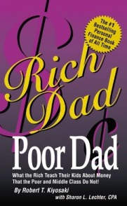 Order the most talk about finance book of all time Richdad Poordad
