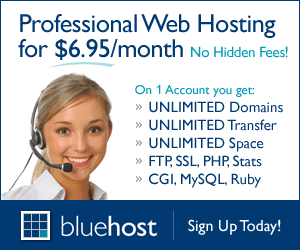 Get reliable domain and hosting with Bluehost